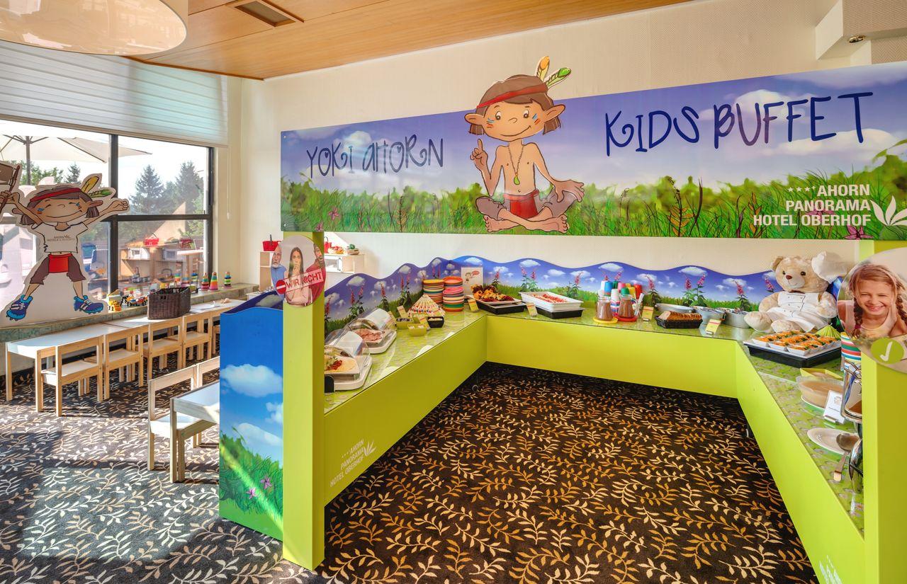 YOKI AHORN Kinderbuffet für unsere kleinen Gäste
