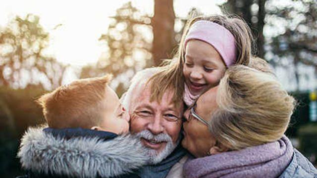 Mit Oma und Opa unterwegs