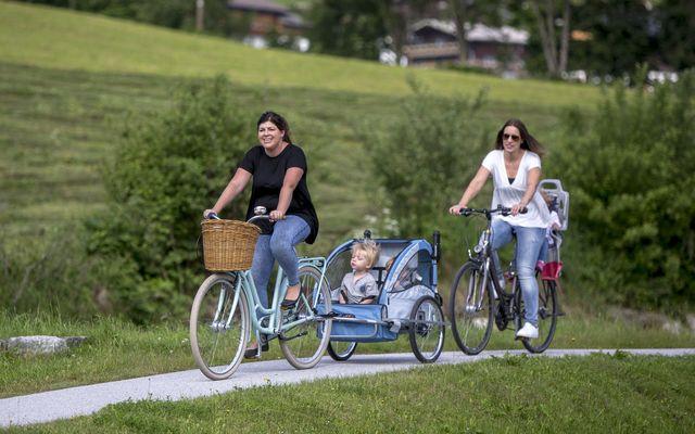Fahrradfahren mit Anhänger