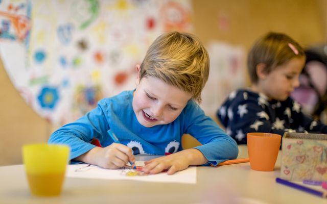 Kids Kreativ inklusive Tischtennis, Billard, Boulder und Mediathek