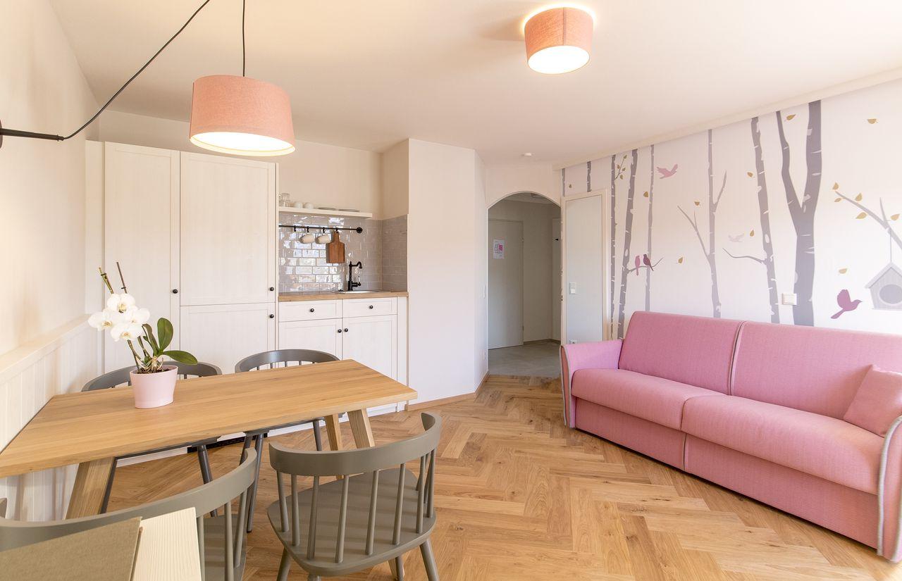 Familienappartement im Haus Antonia