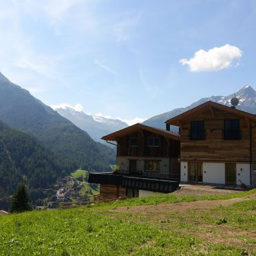 Sommer, Bergsteiger Chalet in Sölden, Tirol, Tirol, Österreich