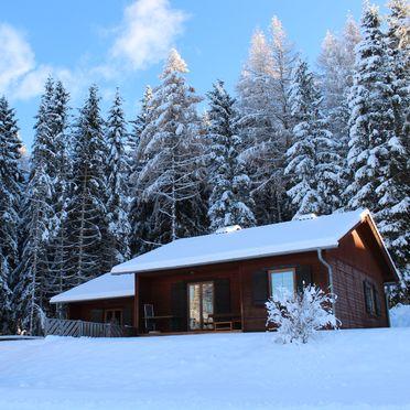 Winter, Langhans Hütte 2 in St. Gertraud - Lavanttal, Kärnten, Kärnten, Österreich