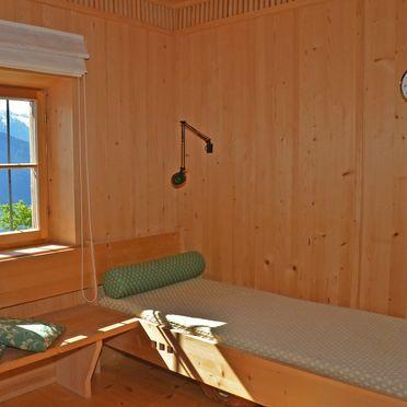 Wohnbereich, Kohlstatt Hütte in Vöran, Trentino-Südtirol, Trentino-Südtirol, Italien