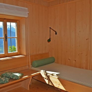Wohnbereich, Kohlstatt Hütte, Vöran, Trentino-Südtirol, Trentino-Südtirol, Italien