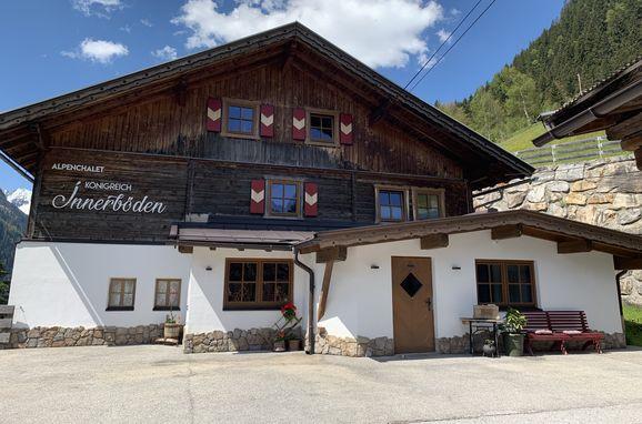 Sommer, Alpenchalet Königreich Innerböden, Ginzling-Mayrhofen, Tirol, Tirol, Österreich