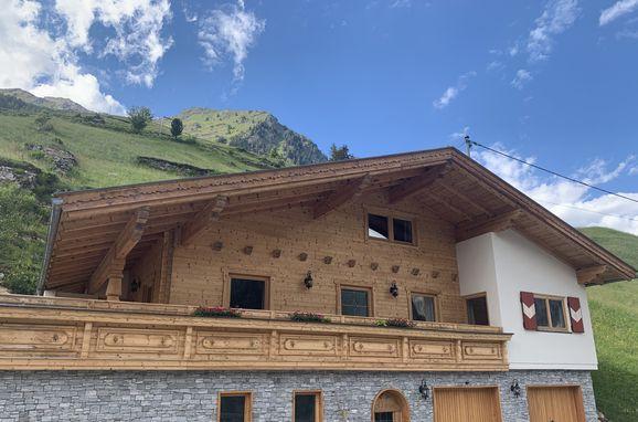 Sommer , Alpenhoamatl in Ginzling-Mayrhofen, Tirol, Tirol, Österreich