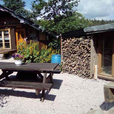 Aussenansicht, Holzfäller Hütte, La Rosiere - Vogesen, Vogesen, Elsass, Frankreich