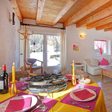 Wohn-Essbereich, Panorama Hütte  in La Rosiere - Vogesen, Vogesen, Elsass, Frankreich
