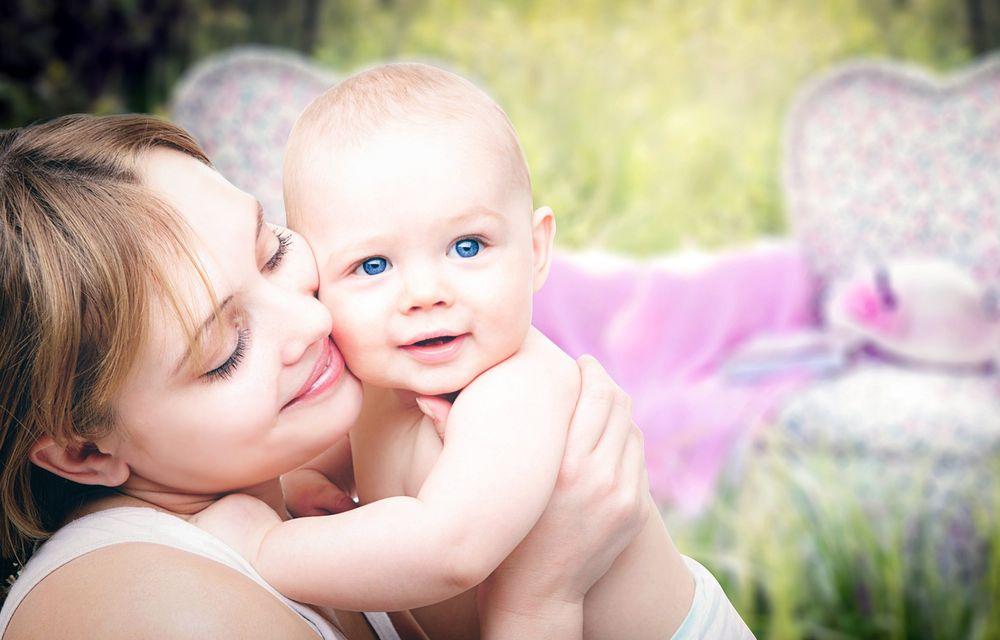 Baby Kuschelmassage