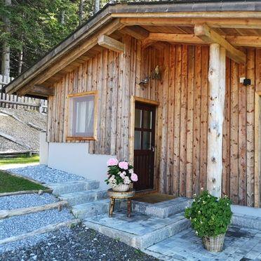 Sommer, Almhaus Herzstück in Preitenegg, Lavanttal, Kärnten, Österreich