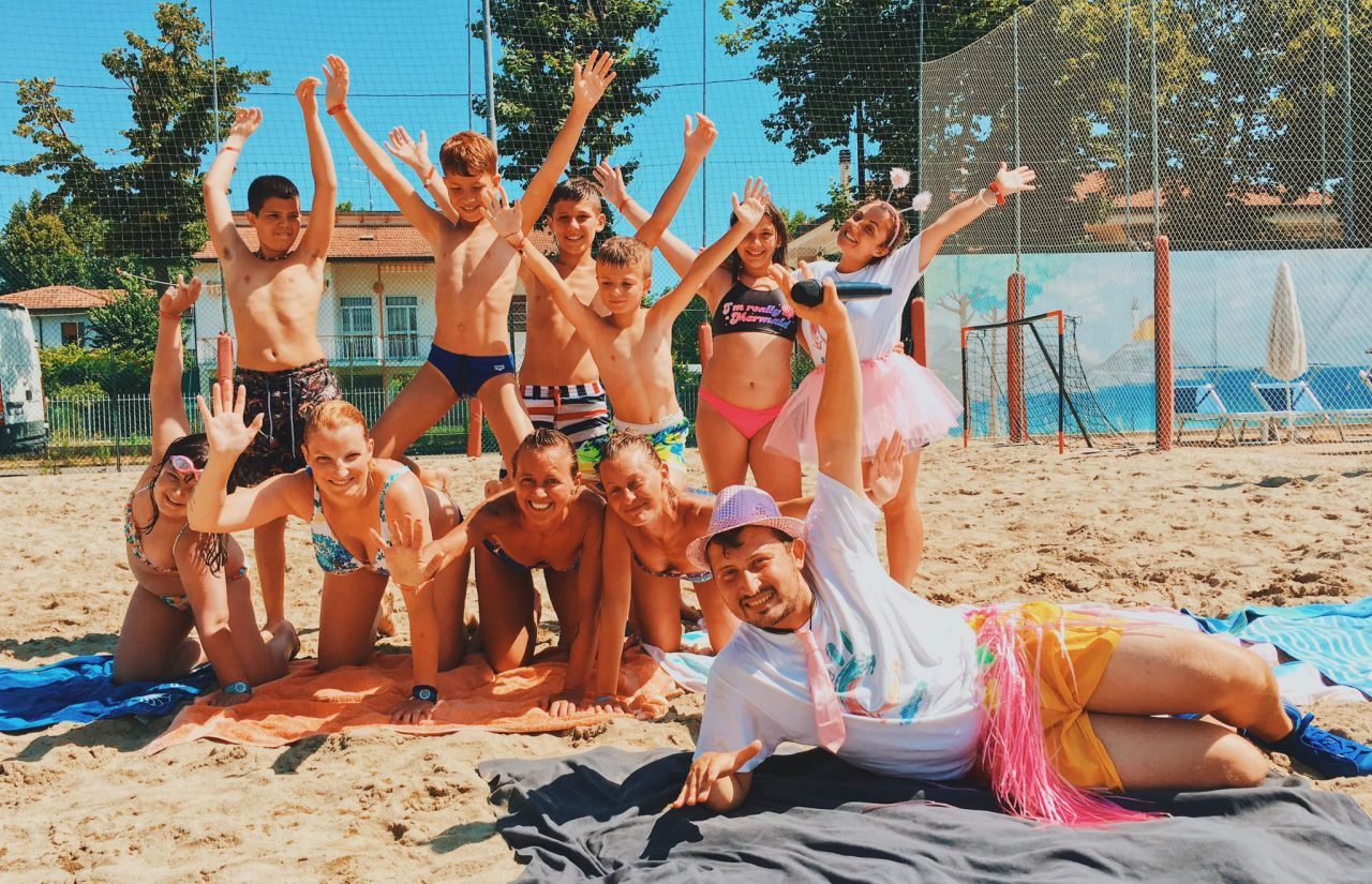 Miniclub am Strand