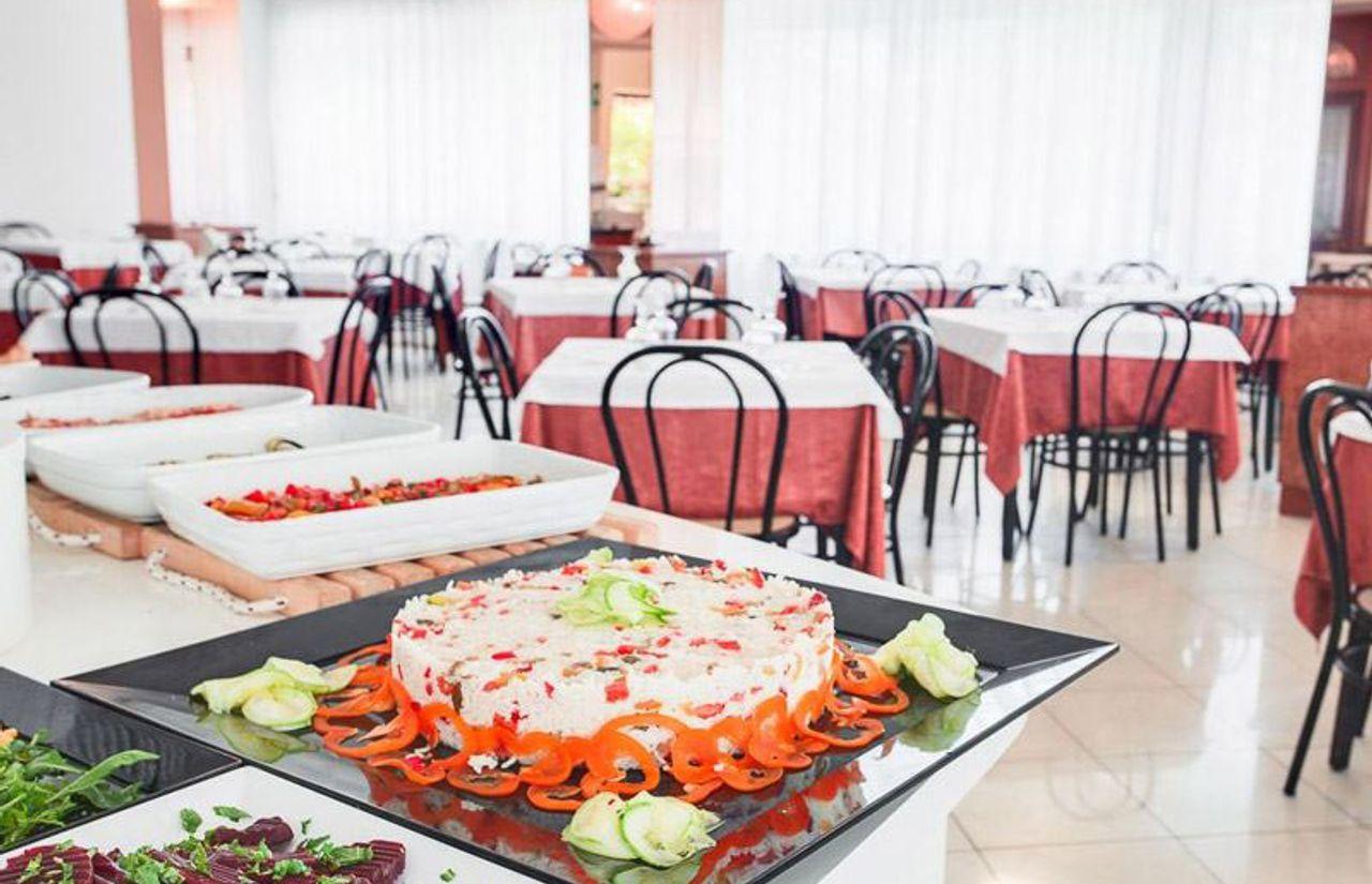 Blick ins Buffet-Restaurant
