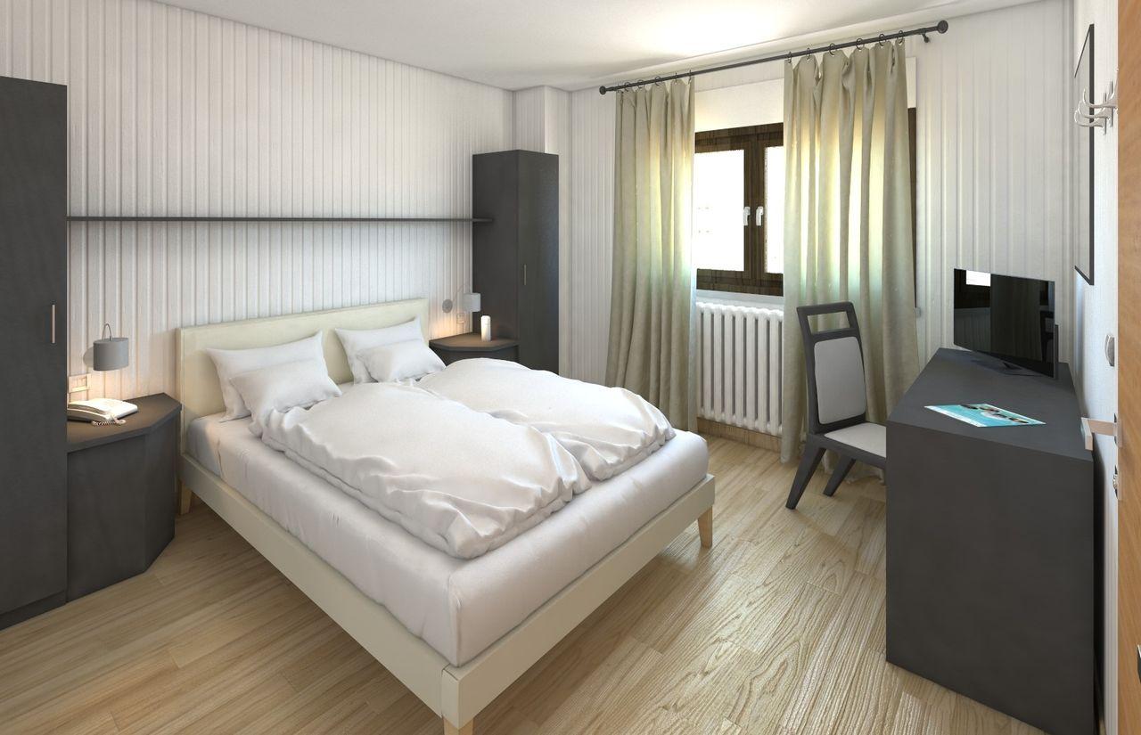 FAMILIENZIMMER KOMFORT - ein Doppelzimmer mit drittem Bett