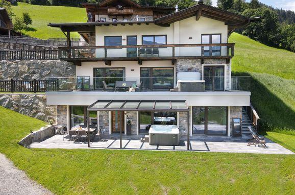 Sommer Außen, Deluxe Suite Goldreh, Kaltenbach im Zillertal, Tirol, Tirol, Österreich