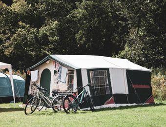 Parcheggio incl. bici / moto con tenda - Bruggerhof – Camping, Restaurant, Hotel