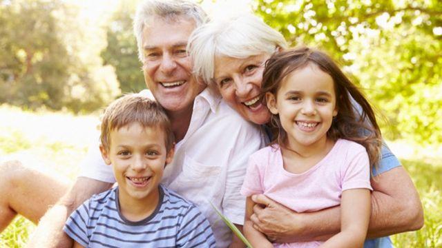 Urlaub mit Oma und Opa