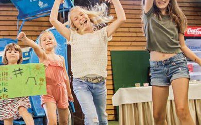 Die Spielewelt ist geeignet für Kinder ab 3 Jahren in Begleitung Erwachsener