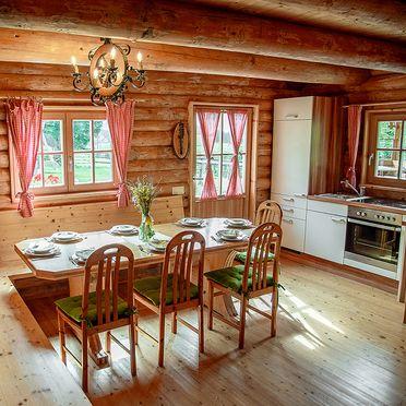 Gemütliche Wohnstube, Hüblerhütte in Bad St. Leonhard, Kärnten, Kärnten, Österreich