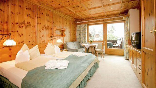 Doppelzimmer Wetterstein | 30 qm - 1-Raum
