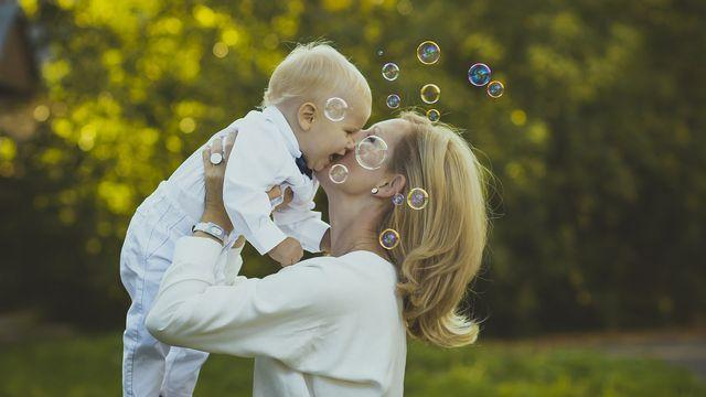 Mini Familie - Single mit Kind