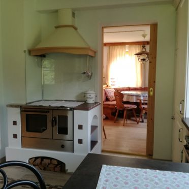 kitchen, Jägerkeusche in Preitenegg, Lavanttal, Carinthia , Austria