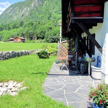 Innen Sommer 2, Hütte Jägerhiesle im Allgäu, Oberstdorf, Allgäu, Bayern, Deutschland