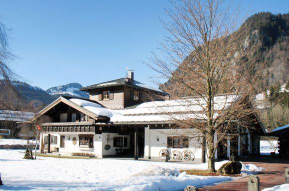 Außen Winter 14 - Hauptbild, Hütte Jägerhiesle im Allgäu, Oberstdorf, Allgäu, Bayern, Deutschland