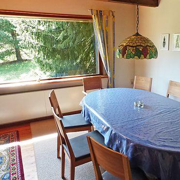 Innen Sommer 3, Schwarzwaldhütte Groosmoos in Bonndorf, Schwarzwald, Baden-Württemberg, Deutschland