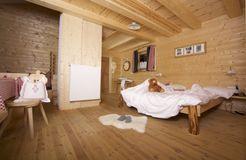 Biohotel Blaslahof: Almsuite Gallfall - Blasla Hof, Gsies, Südtirol, Trentino-Südtirol, Italien