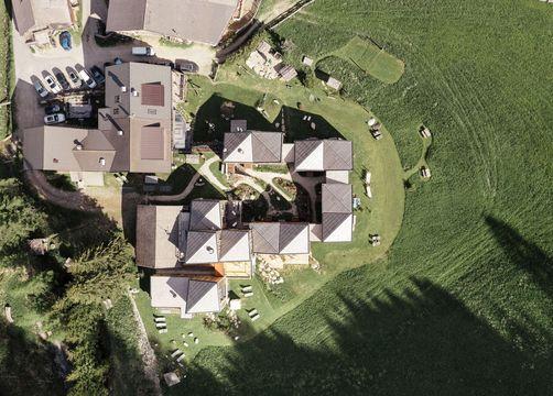 Biohotel Blaslahof: Luftbild - Blasla Hof, Gsies, Südtirol, Trentino-Südtirol, Italien