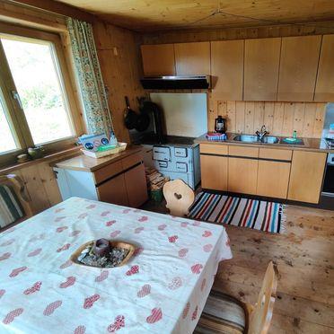 Wohnküche, Oberpranterhütte in Meransen, , Trentino-Südtirol, Italien