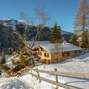 Außen Winter 24, Chalet Zwärgli in Wengen, Berner Oberland, Bern, Schweiz