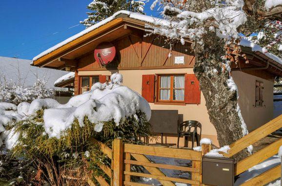 Außen Winter 23 - Hauptbild, Chalet Zwärgli in Wengen, Berner Oberland, Bern, Schweiz