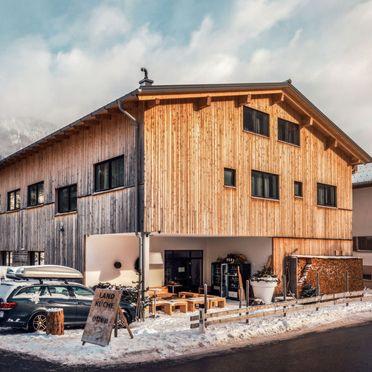Außen Winter 22, Chalet Montafonblick, Sankt Gallenkirch, Montafon, Vorarlberg, Österreich