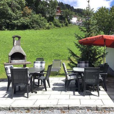 Außen Sommer 2, Jagdhütte Biedenegg im Oberinntal, Fliess/Landeck/Tirol West, Oberinntal, Tirol, Österreich