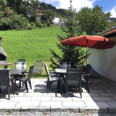 Außen Sommer 2, Jagdhütte Biedenegg im Oberinntal, Region Tirol West/Fliess/Landeck, Oberinntal, Tirol, Österreich