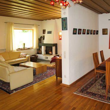 Innen Sommer 2, Ferienhütte Kaiserhäusl im Bayerischen Wald, Bischofsreut, Bayerischer Wald, Bayern, Deutschland