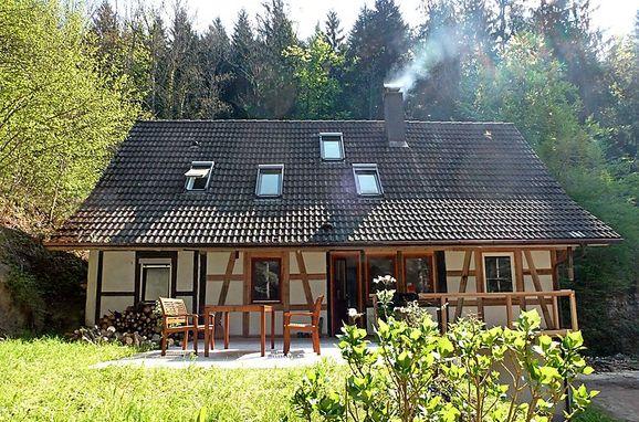 Außen Sommer 1 - Hauptbild, Schwarzwaldhütte Leubach, Wolfach, Schwarzwald, Baden-Württemberg, Deutschland