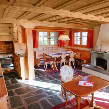 Innen Sommer 2 - Hauptbild, Chalet Chistiala Dadens, Laax, Surselva, Graubünden, Schweiz