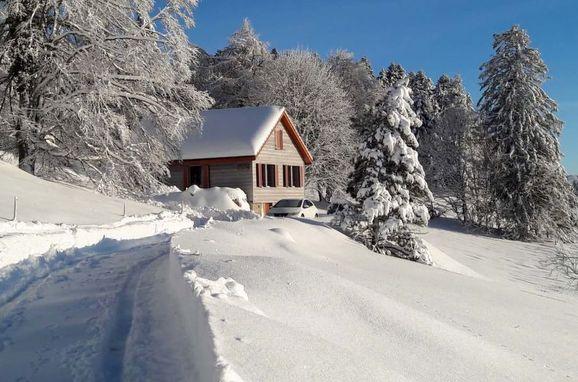 Outside Winter 38 - Main Image, Ferienchalet la Frêtaz im Jura, Bullet, Jura, Jura, Switzerland