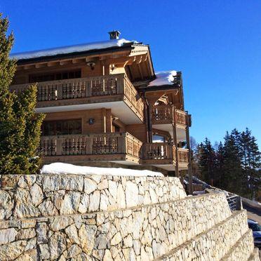 Außen Winter 64, Luxuschalet Chanson im Wallis, Crans-Montana, Wallis, Wallis, Schweiz