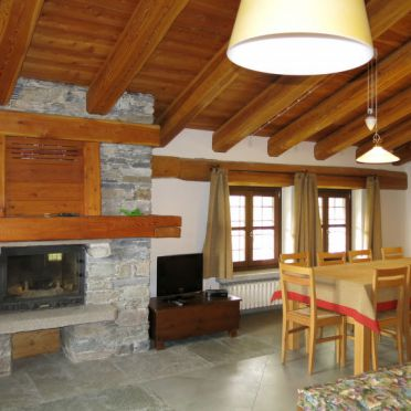 Innen Sommer 4, Casa pra la Funt, Sampeyre, Piemonte-Langhe & Monferrato, Piemont, Italien