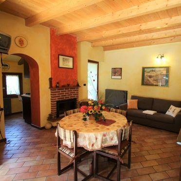 Innen Sommer 2, Rustico Casa Mulino, Castelveccana, Lago Maggiore, Lombardei, Italien