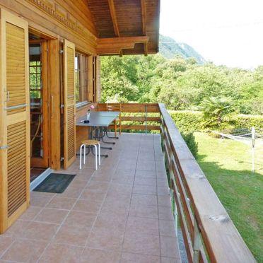 Innen Sommer 4, Chalet Gallina, Castelveccana, Lago Maggiore, Lombardei, Italien
