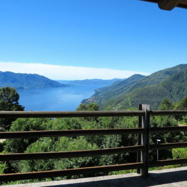 Außen Sommer 2, Rustico delle Rose, Cannero Riviera, Lago Maggiore, Piemont, Italien