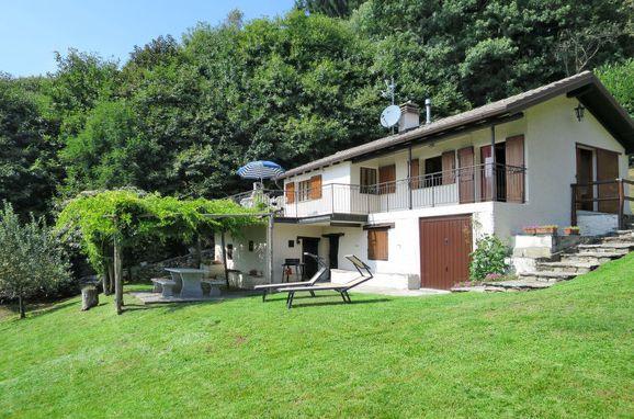 Außen Sommer 1 - Hauptbild, Ferienhaus Baita Lavu, Cannero Riviera, Lago Maggiore, Lombardei, Italien