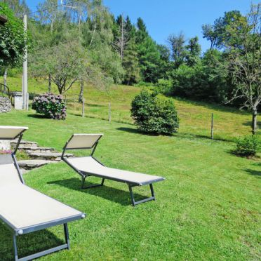 Außen Sommer 5, Ferienhaus Baita Lavu, Cannero Riviera, Lago Maggiore, Lombardei, Italien