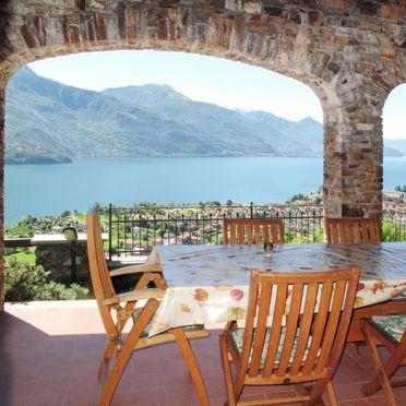 Außen Sommer 3, Villa Bellavista, Dongo, Comer See, Lombardei, Italien