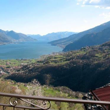 Außen Sommer 3, Chalet Antonia, Gravedona, Comer See, Lombardei, Italien